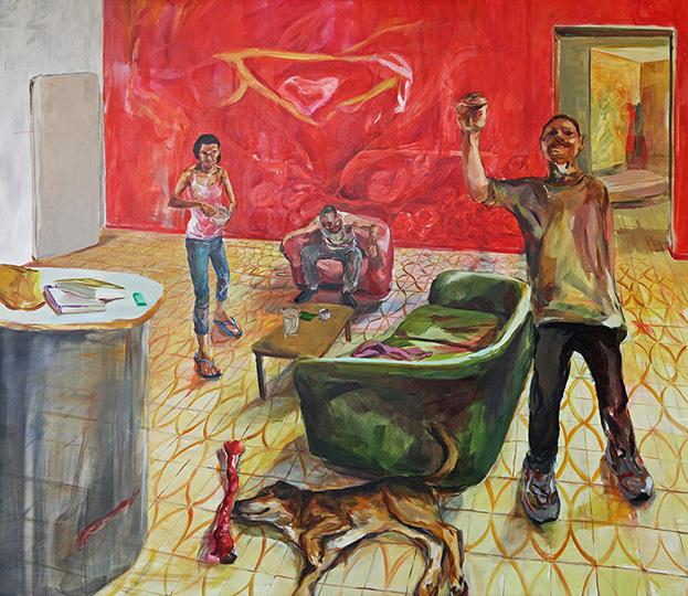 Living Room II - Alma Itzhaky | עלמה יצחקי