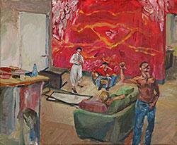 Living Room - Alma Itzhaky | עלמה יצחקי