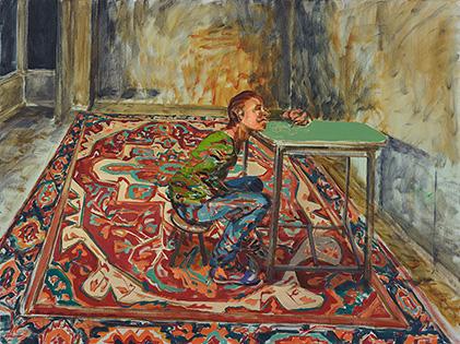 Rug Painting Alma Itzhaky | עלמה יצחקי